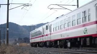 青い森鉄道 キハ40系1431D 諏訪ノ平~剣吉 2018年1月3日