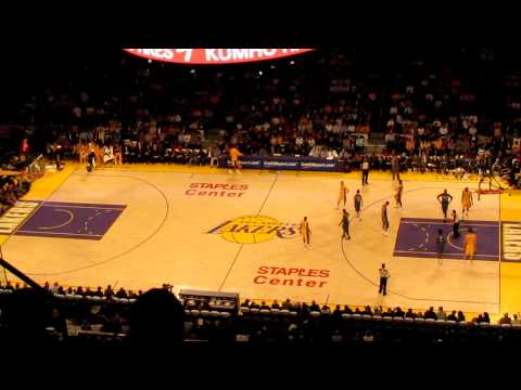 Moments of the Game - Los Angeles Lakers vs Washington Wizards - NBA 2010