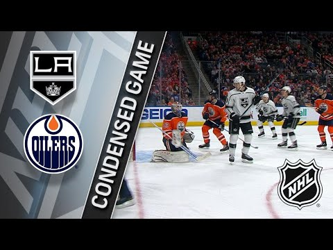 01/02/18 Condensed Game: Kings @ Oilers