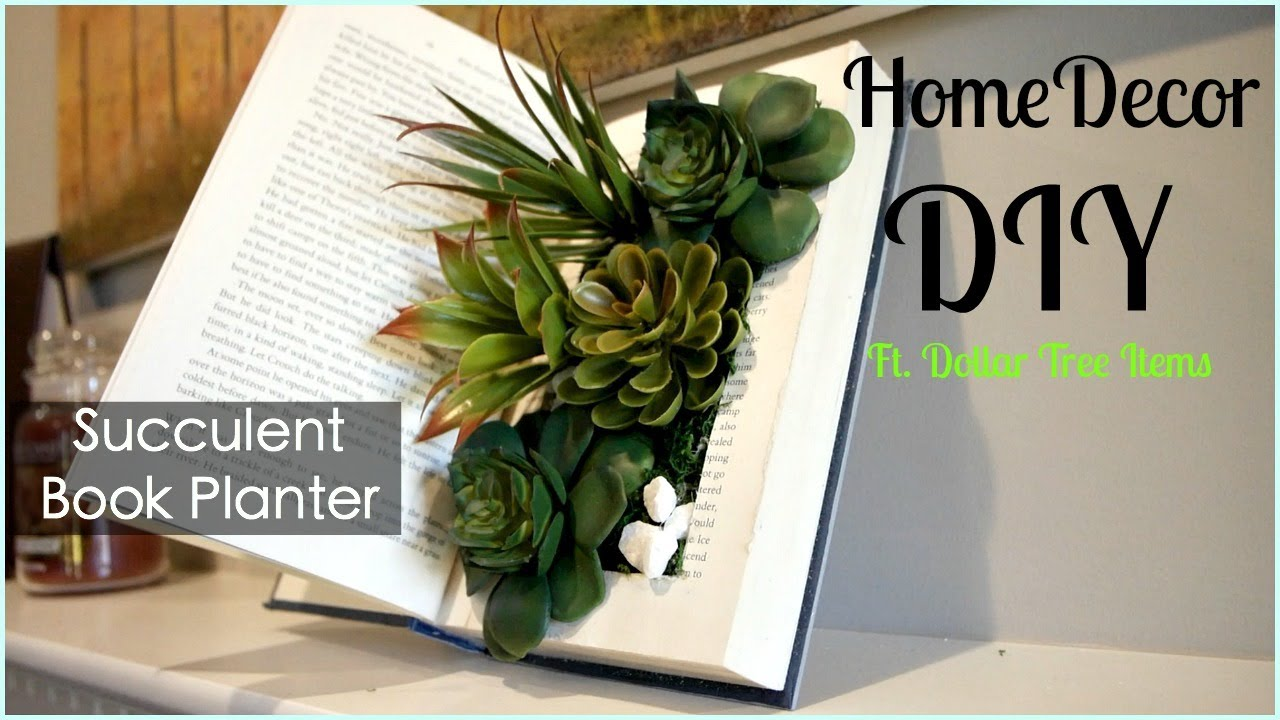dollar tree home decor diy succulent book planter pinterest dollar tree home decor diy succulent book planter pinterest inspired diy