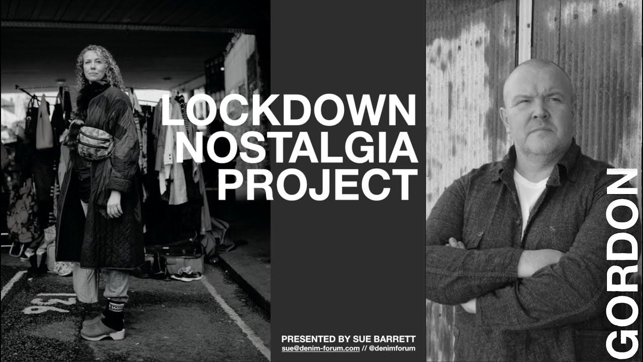 Sue Barrett's Lockdown Nostalgia Project - GORDON