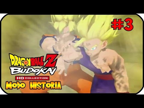 Dragon Ball Budokai 1 HD Collection Modo Historia Parte 3 La Saga De Cell