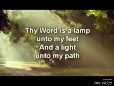 Thy word is a lamp unto my feet - Prince and Princy - YouTube