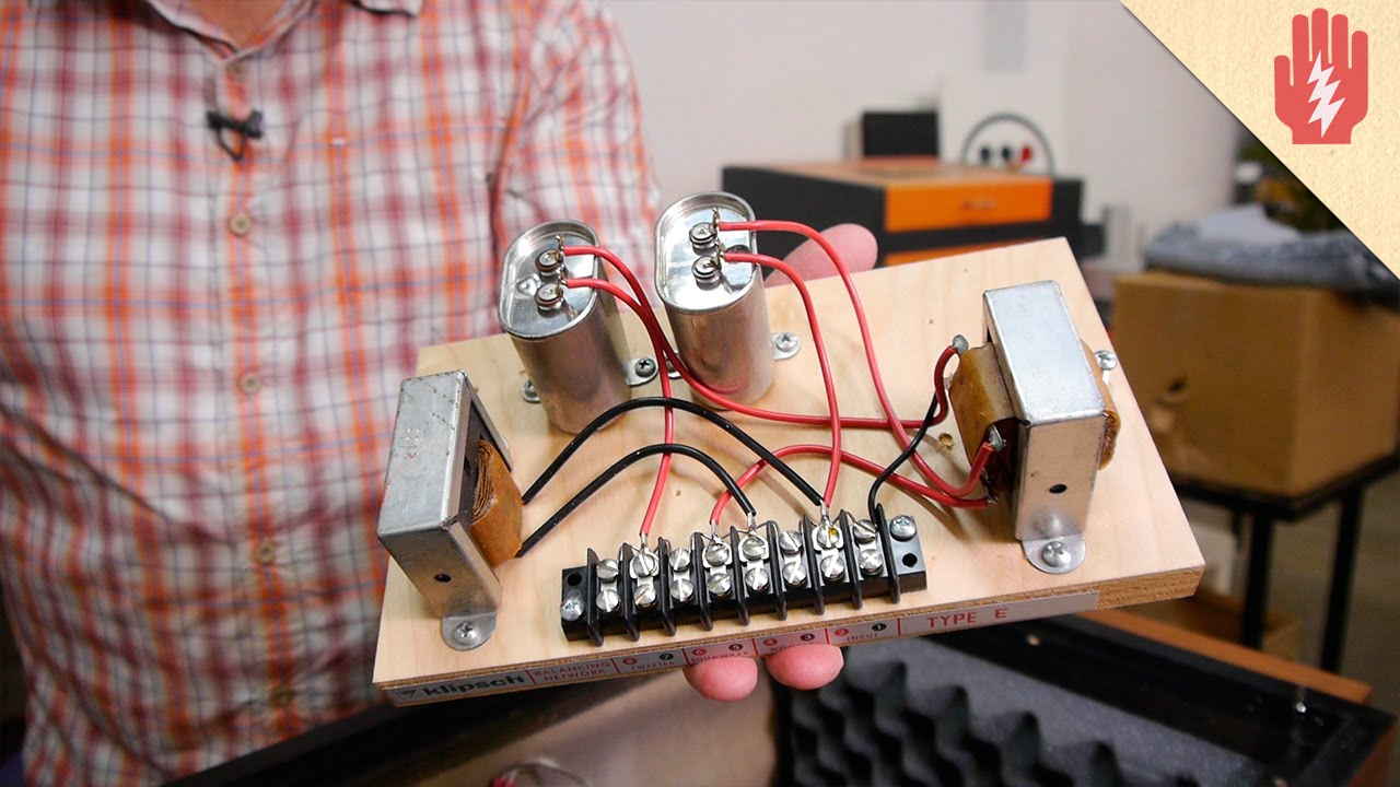medium resolution of speaker capacitor wiring
