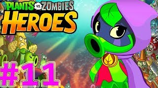 Plants vs Zombies Heroes Gameplay (Android,iOS) Green Shadow #11