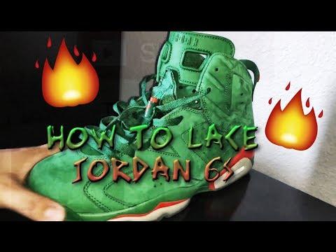 HOW TO LACE THE GATORADE 6s/JORDAN 6s!