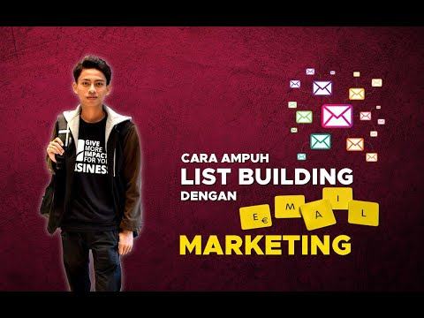 List Building dengan Email Marketing