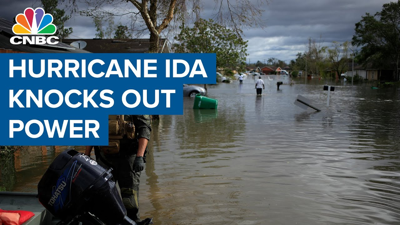 Download Estimated $40 billion in damages from Hurricane Ida