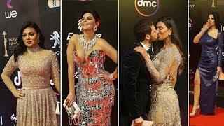 فستان مقفول لرانيا ورقص وقبلات الفنانين تشعل ختام القاهرة السينمائي