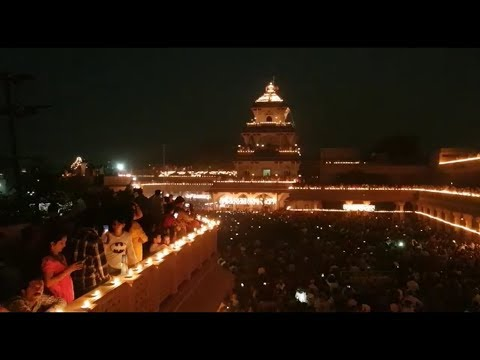 On the occasion of Dev Diwali Santram temple of Nadiad lights up with 50 thousand diyas-Tv9
