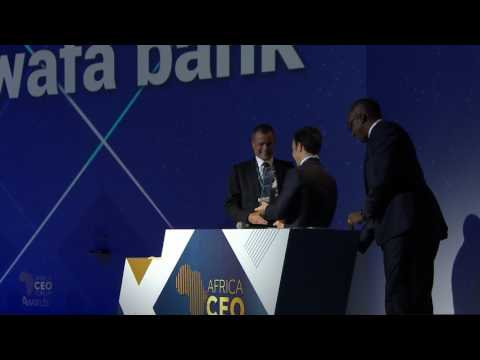 AFRICA CEO FORUM AWARDS 2017 - Attijariwafa Bank