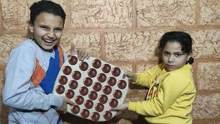 مرام ومازن يريدوا نفس الشكولاتة!!