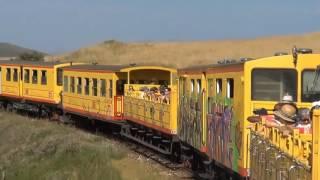 De Font Romeu a Mont Louis avec le Train Jaune Avril Juillet