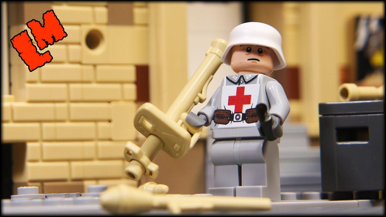 Панцершрек, горный стрелок и врач в посылке от NevaBrick