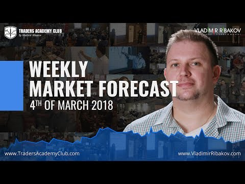 Forex Trading Weekly Review 4th To 9th Of March 2018 - By Vladimir Ribakov