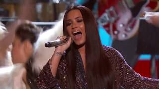 Demi Lovato - Stayin' Alive (Live On 59th GRAMMY Awards)