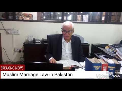 MUSLIM MARRIAGE LAW OF PAKISTAN