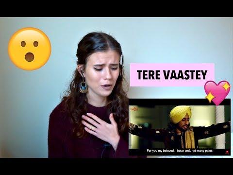 Tere Vaastey | Satinder Sartaaj Ft. Nargis Fakhri | Jatinder Shah | 4K | Saga Music | REACTION