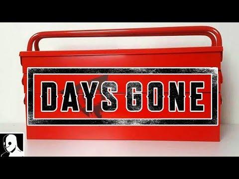 DAYS GONE Unboxing Extrem Seltene Limited Edition (PS4 Press Kit Version)