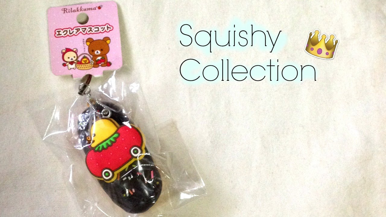 My Squishy Collection 2015 : Squishy Collection 2015 - YouTube