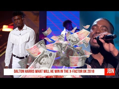 Dalton Harris What Will He Win In The X-Factor UK 2018 Competition?/JBN
