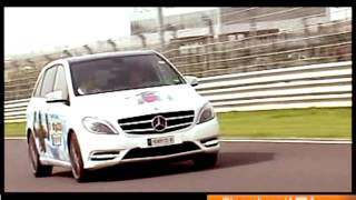 Mercedes B-Class video review by Autocar India
