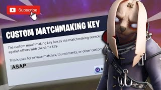 NA/EAST CUSTOM MATCHMAKING FORTNITE // CODE: asap