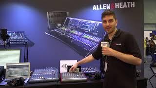 Allen & Heath ZED-10 10 Channel Desktop Audio Mixer
