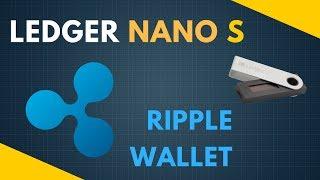 Ripple Safe Wallet - Ledger Nano S - offline cold storage