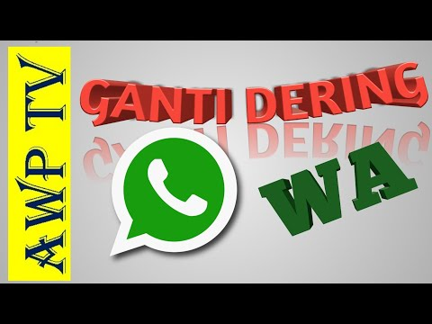 Cara Ganti Nada Dering Wa atau Whatsapp Terbaru