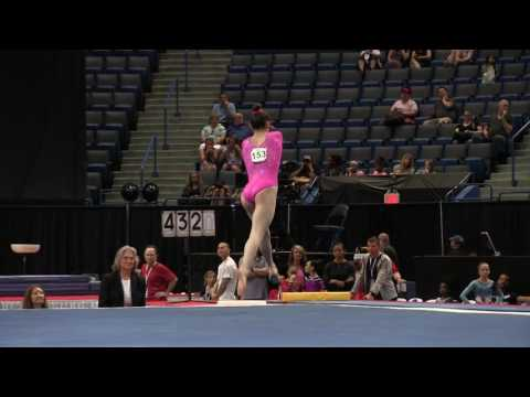 Irina Alexeeva - Floor Exercise - 2016 Secret U.S. Classic - Junior