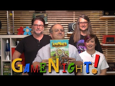 Animals on Board - GameNight! Se4 Ep25