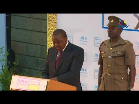 President Uhuru Kenyatta opens 3-day UN Environment Assembly in Gigiri