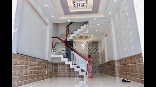 Nhà bán Gò Vấp - Nhà 3 lầu 4 pn giá rẻ thiết kế chuẩn đẹp Lê Văn Thọ quận Gò Vấp Lh 0918178647