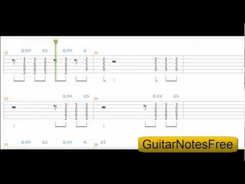 Highway to Hell - AC/DC Guitar Tab HD