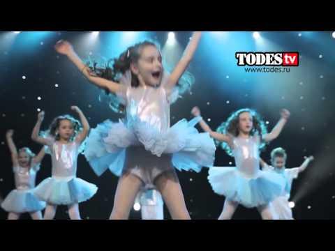 видео танец белых снежинок