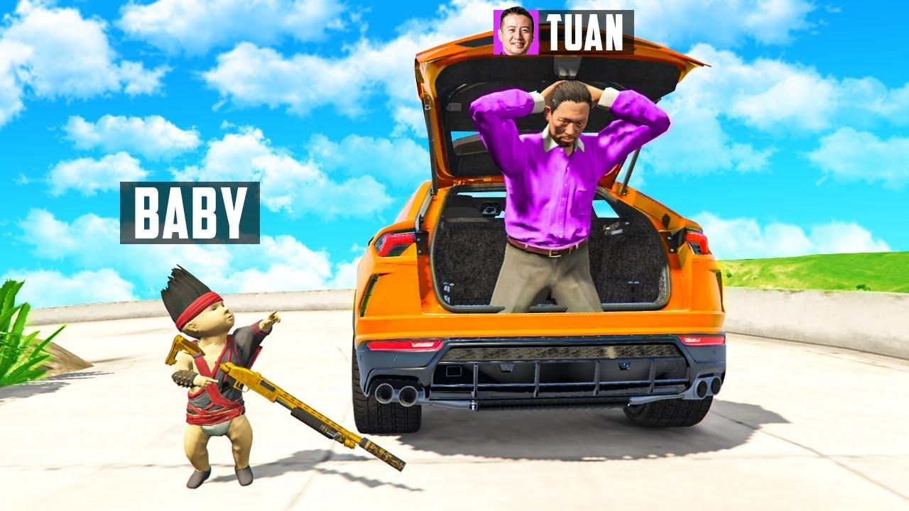 BABY entführt TUAN in GTA 5 RP!