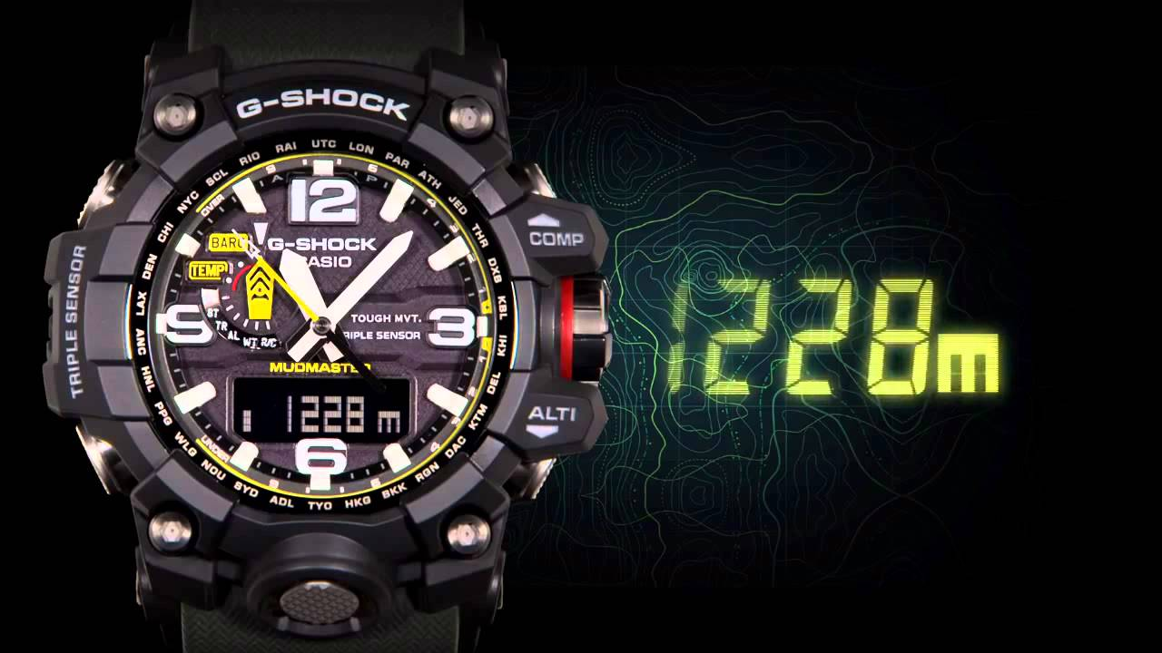 cf07f229d06 Casio G-SHOCK MUDMASTER GWG-1000 - YouTube