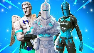 FINALLY.. NEW Fortnite Winter Skins! (White Camo Skins...)