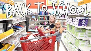 BACK TO SCHOOL SHOPPING!