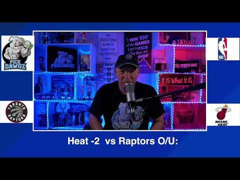 Miami Heat vs Toronto Raptors 2/24/21 Free NBA Pick and Prediction NBA Betting Tips