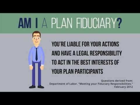 """Am I A Plan Fiduciary?"" by Joey DelliSanti"