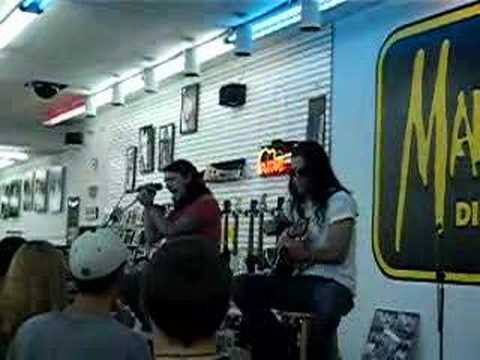 Shinedown In-Store @ Manifest in Charlotte, NC