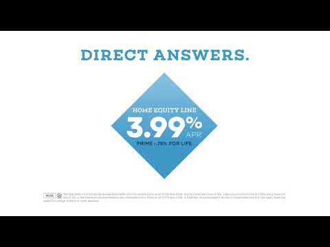 Direct Federal Credit Union 2018 Home Equity Line of Credit TV Commercial