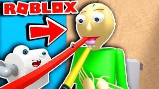 Escape Baldi Toilet OBBY in Roblox