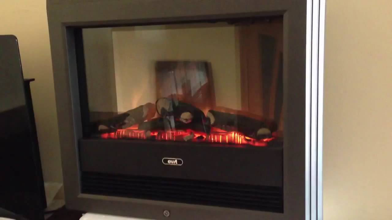 electric fireplace dimplex bach youtube
