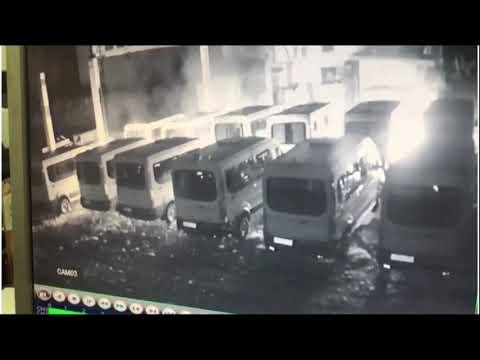 В Кингисеппе конкуренты сожгли автобусы.