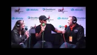 Luke Bryan - Wakeup Crew CMA Interview