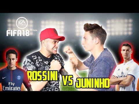 NEYMAR vs CRISTIANO RONALDO - FIFA 18