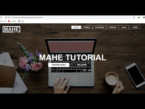 Cara Membuat Website Dengan Html Dan Css